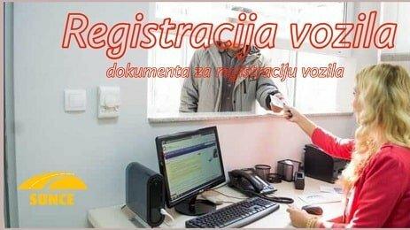Registracija vozila - dokumenta za registraciju vozila