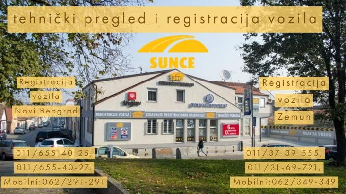 Agencija za registraciju vozila Sunce
